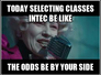 Selecting classes