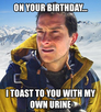 on your birthday...
