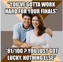 Scumbag parents finals