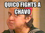 Quico Fights a Chavo
