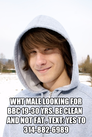 Wht male looking for BBC 19-30 yrs. Be clean   And not fat . Text: yes to 314-882-6989