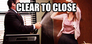 clear to close